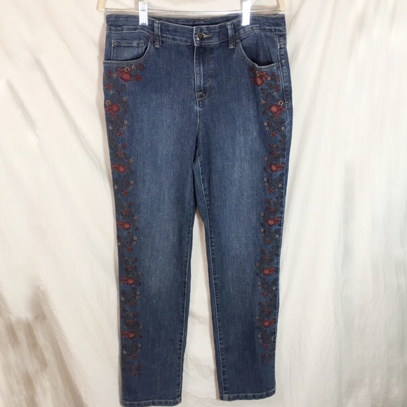 Style & Co Denim - Style & Co Embroidered Jeans Size 10